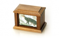 Country Woods  Cremation Urn - Walnut