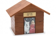K-9 Cottage Urn - Cherry